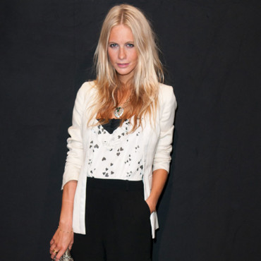 Poppy Delevingne bronzage top Karl Lagerfeld Party septembre 2011 Fashion Week Paris