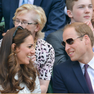 Kate Middleton et le prince William à Wimbledon pour encourager Andy Murray le 2 juillet 2014 à Londres
