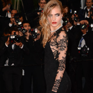 Cara Delevigne au Festival de Cannes 2013