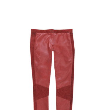 Pantalon Morgan rouge