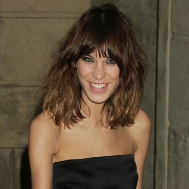 Alexa Chung à la présentation Stella McCartney Fashion Week fev 2012