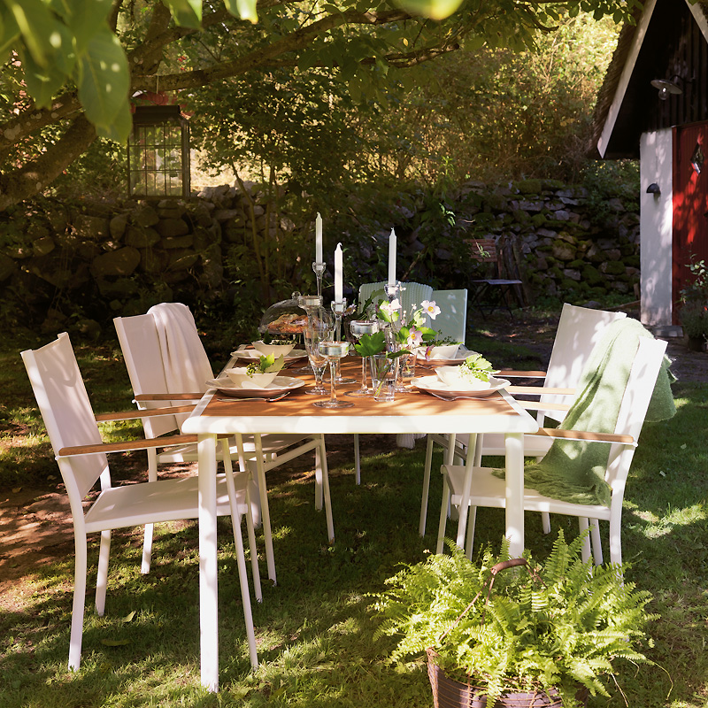 Salon de jardin en solde ikea for Table de jardin ikea