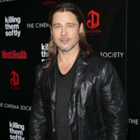 Brad Pitt lors de l'avant-première de Killing Them Softly, à New York City, le 26 novembre 2012.