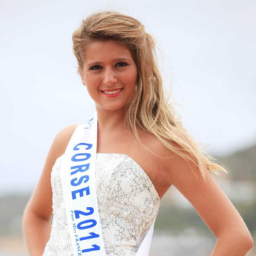 Miss Corse 2011 - Camille Mallea - Candidate Election Miss France 2012