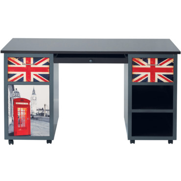 jeux olympiques 2012 la d co se met l 39 heure anglaise bureau london maisons du monde. Black Bedroom Furniture Sets. Home Design Ideas