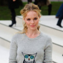 Kate Bosworth défilé Burberry Fashion Week fév 2012