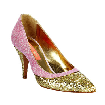 Escarpins à paillettes Manoush chez MonShowroom.com 295 euros