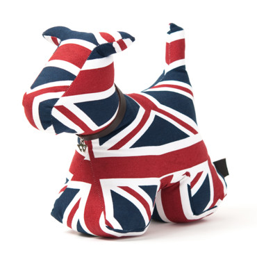 jeux olympiques 2012 la d co se met l 39 heure anglaise cale porte chien union jack so. Black Bedroom Furniture Sets. Home Design Ideas