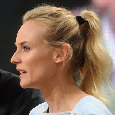 Diane Kruger en queue de cheval au Festival de Cannes 2012