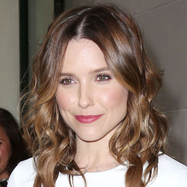 Sophia Bush quittant un immeuble newyorkais le 29 avril 2014.