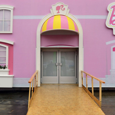 Maison de Barbie à Berlin