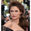 Bianca Balti en queue de cheval au Festival de Cannes 2012
