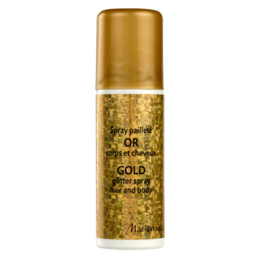 Gold Glitter Spray, Marionnaud