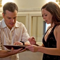 Photo : Matt Damon et Emily Blunt dans The Adjustment bureau