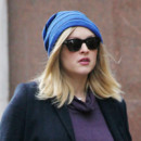 Fearne Cotton et son bonnet loose