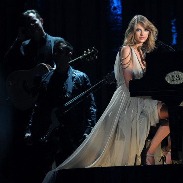 Taylor Swift aux Grammy Awards, le 26 janvier 2014