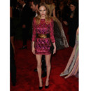 Kate Bosworth en robe colorée Balmain lors du Met Gala 2013 à New-York le 6 mai