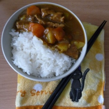 Curry japonais au poulet