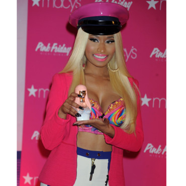 Nicki Minaj et son parfum Pink Friday