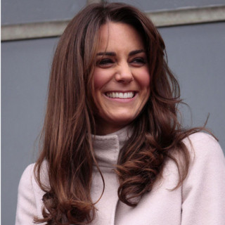 Kate Middleton en visite à Cambridge