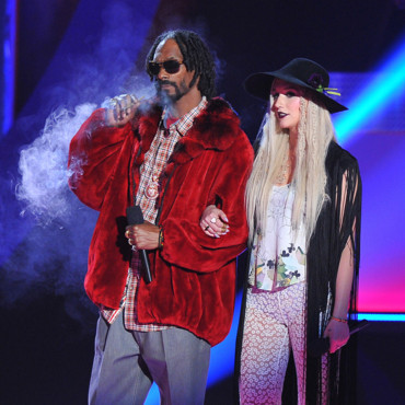 Kesha et Snoop Dogg lors de la cérémonie des MTV Movie Awards 2013