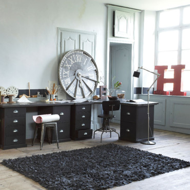 am pm les nouveaut s d co automne hiver de la redoute bureau tanguy ampm d co. Black Bedroom Furniture Sets. Home Design Ideas