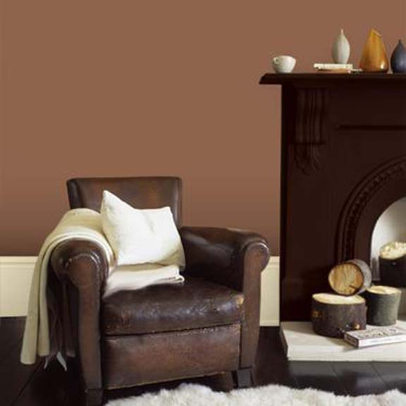 peinture d co chocolat dulux valentine objet d co d co. Black Bedroom Furniture Sets. Home Design Ideas