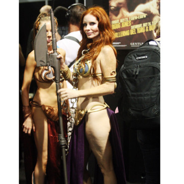 Cellulite Phoebe Price au Comic Con 2010 San Diego