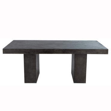 Tous table s lection de tables manger et de chaises - Maison du monde table beton ...