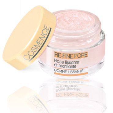 Soin anti imperfections visage CCB : Cosmence Re-Fine Pore base lissante et matifiante