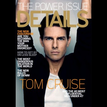 Tom Cruise en couvertue de Details