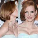 Jessica Chastain et sa coupe au carré pour The Debt
