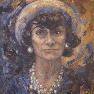 Le London College of Fashion expose 5 portraits de Coco Chanel