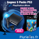 Gagnez 5 Packs PS3 Playstation Move