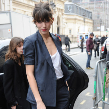 Lou Doillon- look 1