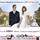Gagnant du grand concours 1001 Mariages