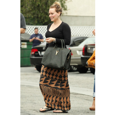 Hilary Duff et son sac YSL