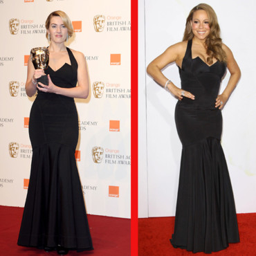 Match de look Kate Winslet Mariah Carey