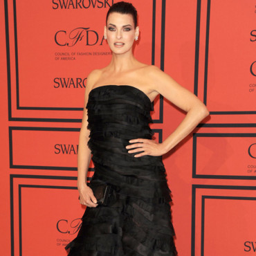 Linda Evangelista lors des CFDA Fashion Awards à New York en juin 2013