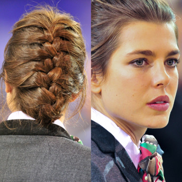Charlotte Casiraghi avec une tresse africaine