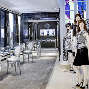 Boutique Dior à New York - la joaillerie