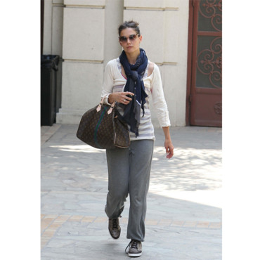 Katie Holmes et son sac Speedy de Louis Vuitton