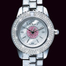Montre Dior Christal Saphir rose
