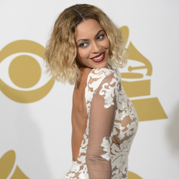 Beyoncé à la 56e cérémonie des Grammy Awards le 27 janvier au Staples Center, à Los Angeles.