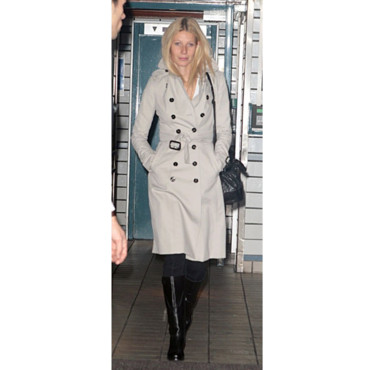 Gwyneth Paltrow en trench Burberry