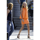 Kate Bosworth dans une robe orange