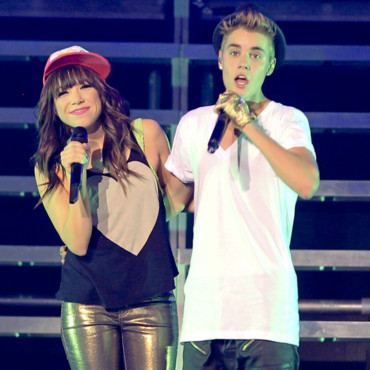 Justin Bieber : les photos de son concert au Canada, en compagnie de Carly Rae Jepsen