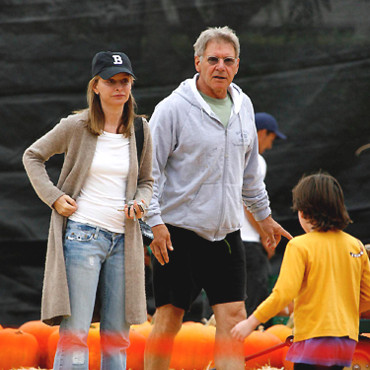 People : Calista Flockhart et Harrison Ford