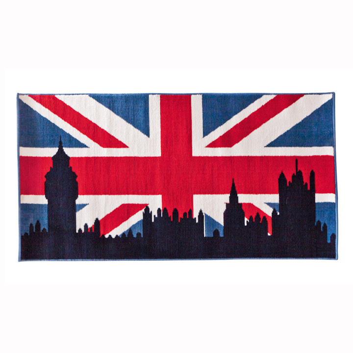 chambre d 39 ado coussin tapis et lampe style london pour une d co so british tapis sweet. Black Bedroom Furniture Sets. Home Design Ideas