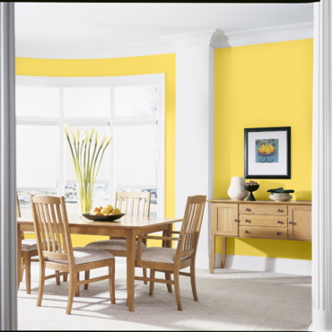 peinture d co jaune dulux valentine objet d co d co. Black Bedroom Furniture Sets. Home Design Ideas